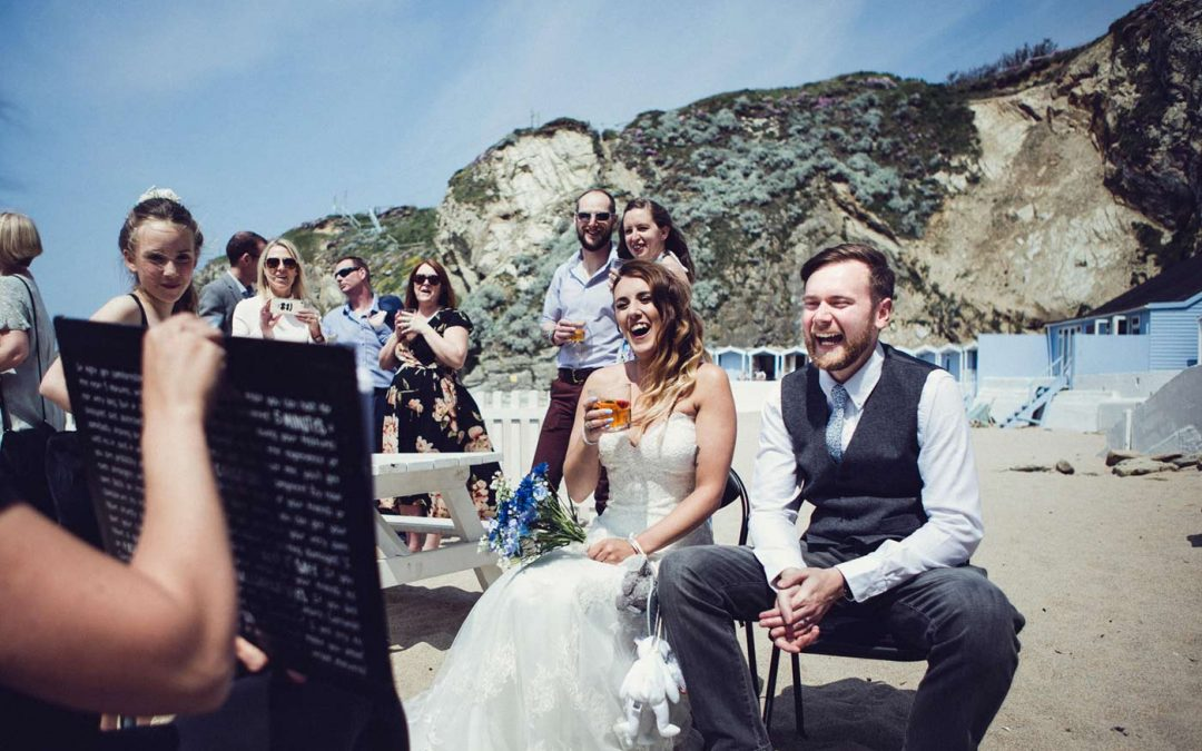5 reasons why you should have a Caricaturist at your beach wedding
